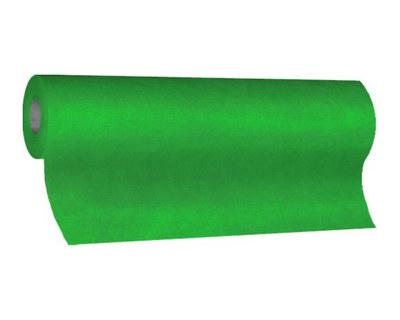 Tischläufer Airlaid 24m x 40cm - alle 120cm perforiert, stoffähnlich, dunkelgrün