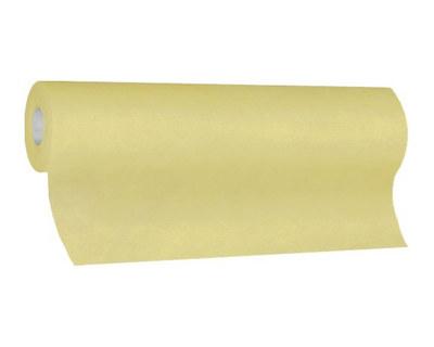 Tischläufer Airlaid 24m x 40cm - alle 120cm perforiert, stoffähnlich, champagner