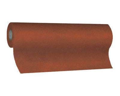 Tischläufer Airlaid 24m x 40cm - alle 120cm perforiert, stoffähnlich, braun
