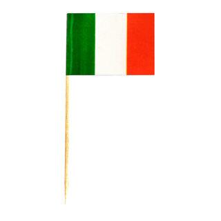 Flaggenpicker Deko-Picker Land Italien, 500 Stk.