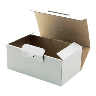 Warensendung Versandkarton MEDIUM, extra stabil, 174x104x74mm, weiß