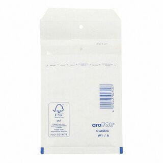 AROFOL CLASSIC Luftpolstertasche  1/A-11W, 100x165mm, für A6+, weiß