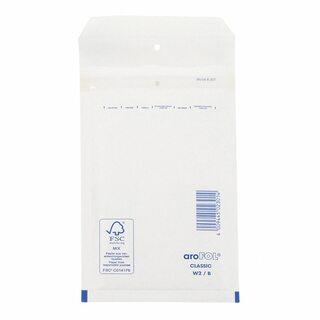 AROFOL CLASSIC Luftpolstertasche  2/B-12W, 120x215mm, für B6+, weiß