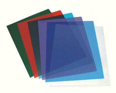 Deckblätter 0.20mm, A4, transparent / rauchfarben, 100 Stk.