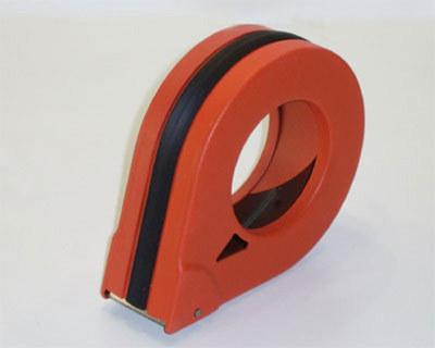 Handabroller aus Metall, geschlossene Ausführung für 38mm Bänder