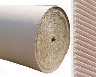 Rollenwellpappe, Wellpappe auf Rolle, 100cm x  5m, B-Welle