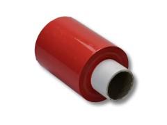 Bündelstretchfolie, 100 mm, 23my, ROT, Kernlänge 140 mm, 150m