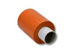 Bündelstretchfolie 100 mm 23my ORANGE, Kernlänge 140 mm, 150m