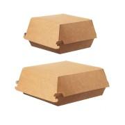 Hamburger-Box klein, Green by Nature, 115x105x80 mm, 75 Stk.