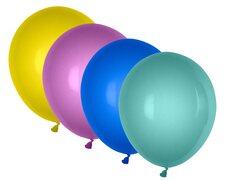 Luftballons metallic bunt gemischt Ø 250 mm, Größe M, 100 Stk.