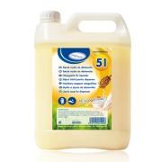 HYGSOFT Flüssigseife für Spender Milch & Honig, 5 Liter