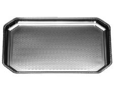 Alu-Catering-Platte, Aluminium-Partyplatte, Servierplatte 375 x 280 mm,  5 Stk.