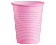 Trinkbecher Partybecher rosa 180 ml, aus PS, Ø 70 mm, 10 Stk.