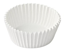 Gebäckkapseln Muffin-Kapseln weiß Ø 50 x 30 mm, 100 Stk.