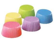 Muffinkapseln Gebäckkapseln Cupcake KARO violett Ø 50 x 30 mm hitzebeständig