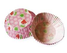Muffinkapseln Gebäckkapseln Glückspilz mit Glücksklee Ø 50 x 30 mm, 40 Stk.