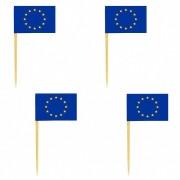 Deko-Picker Flaggenpicker Fahnenpicker Länder EU,  50 Stk.