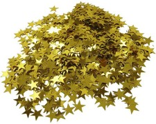 Metallkonfetti STERNE gold 15gr.