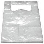 Knotenbeutel für 3 kg HDPE transparent, 380 x 227 mm, geblockt, 100 Stk.