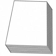 Zuschnitte PP transparent klar, 180 x 240 mm (1/16 Bogen), 4000 Stk.