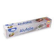 Alufolie in praktischer Spenderbox mit Abreiss-Schiene 45 cm x 200 m, 11 µm