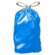 Müllsäcke mit Zugband 120 Liter, 70 x 100 cm, Typ 60, blau, 25 Stk.