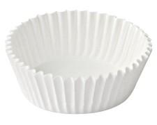 Gebäckkapseln weiß Ø 70 x 20 mm, 1000 Stk.