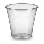 Trinkbecher Schnapsbecher klar transparent 80ml, Ø 55 mm PP, 100 Stk.