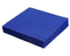 Servietten 33 x 33 cm 1/4 -Falz, 2-lagig dunkelblau,  50 Stk.