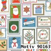 Weihnachtsgeschenkpapier 30 cm x 200 m   Motiv 90163 Schneemann Snowman