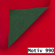 Geschenkpapier Exclusiv DUO zweiseitig beidseitig  70 cm x 200 m | Motiv 990