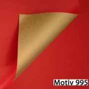 Geschenkpapier Special Giftwrap DUO  100 cm x 200 m | Motiv 995 metallic