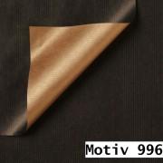 Geschenkpapier Special Giftwrap DUO  30 cm x 200 m | Motiv 996 metallic