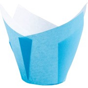 Muffin-Tulip-Wraps, hellblau, 160x160 mm, 200 Stk.