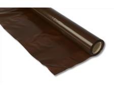 Holzabdeckfolie LDPE-Folie braun, 1350mm x 25m, extra stark 200my