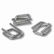 Metallschnallen für Textilumreifungsband, Breite 13 mm, Stärke 3 mm, 1000 Stk.