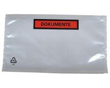Dokumententaschen Begleitscheintaschen *Dokumente* DIN Lang 235x130mm  1000 Stk.