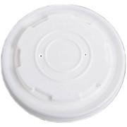 BIO Deckel für Suppenbecher aus Biokunststoff CPLA Ø11.5cm, 50 Stk.