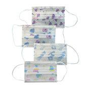 Mundschutzmasken für Kinder 3-lagig bedruckt mit niedlichen Motiven 5 Stk.