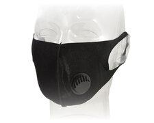 Mundschutzmaske Fashion Mask mit Filter wiederverwendbar waschbar schwarz