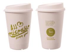 Mehrweg Kaffeebecher Coffee to go 300ml All Reuseable inkl. Domdeckel