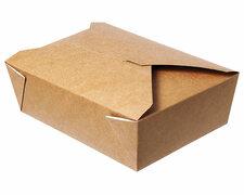 Menübox Lunch-Box, 750 ml, Green by Nature, 140x100x50 mm, 50 Stk.