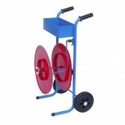 Fahrbarer Abrollwagen für Umreifungsbänder Ø 450mm, bis 15 kg