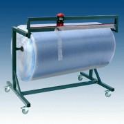Schneidständer für Papierrollen und Folienrollen fahrbar Rollenbreite 100cm