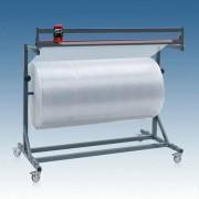 Schneidständer für Papierrollen und Folienrollen fahrbar höhenverstellbar 100cm