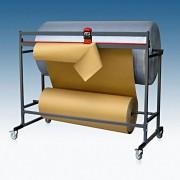 Doppelschneidständer für 2 Rollen, fahrbar, Schnittbreite 1250mm