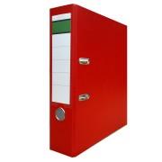 Ordner A4 PP-Color Kunststoff DIN A4 breit, 8cm rot
