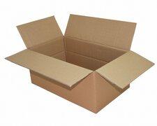 Faltkarton  500x300x(100)-200mm VARIABLE HÖHE, 2wellig