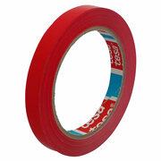 Klebeband Markierungsband tesa® 62204 sPVC, Nachfolger von 4204, 12mmx66m, rot