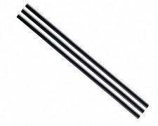 Rührstäbchen und Trinkhalm für Heiß- und Kaltgetränke, 140mm schwarz, 1000 Stk.